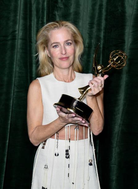 """GBR: """"The Crown"""" 73rd Primetime Emmys Celebration - Red Carpet Arrivals"""