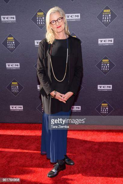 Gillian Armstrong attends the 2018 TCM Classic Film Festival Opening Night Gala 50th Anniversary World Premiere Restoration of 'The Producers' at TCL...