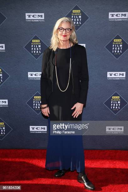 Gillian Armstrong attends the 2018 TCM Classic Film Festival Opening Night Gala 50th Anniversary World Premiere Restoration of The Producers at TCL...