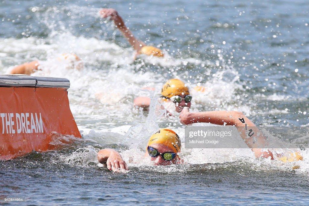 Triathlon - Commonwealth Games Day 3 : ニュース写真