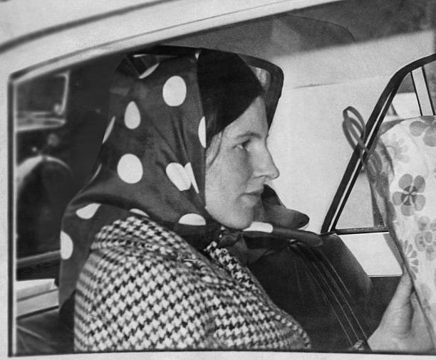Gillian Blake, the wife of British diplomat and spy George Blake, in London, 1967. In 1961, he was found guilty of betraying British secrets to the...