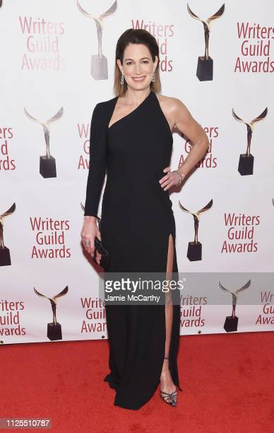 Gillian Flynn attends the 71st Annual Writers Guild Awards New York ceremony at Edison Ballroom on February 17 2019 in New York City