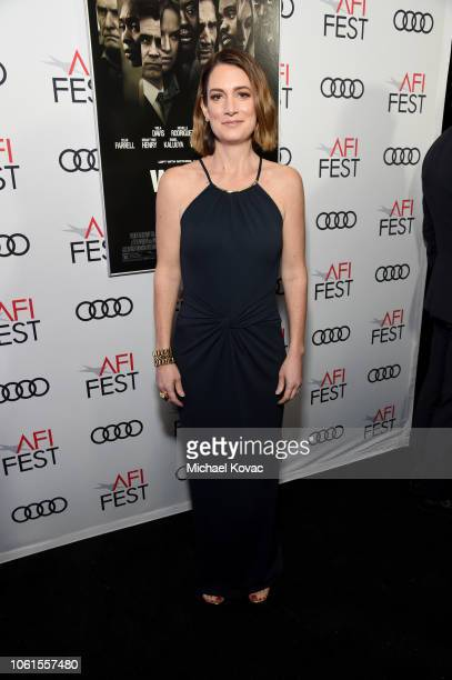 Gillian Flynn attends the gala screening of Widows during AFI FEST 2018 at the TCL Chinese Theatre on November 14 2018 in Los Angeles California