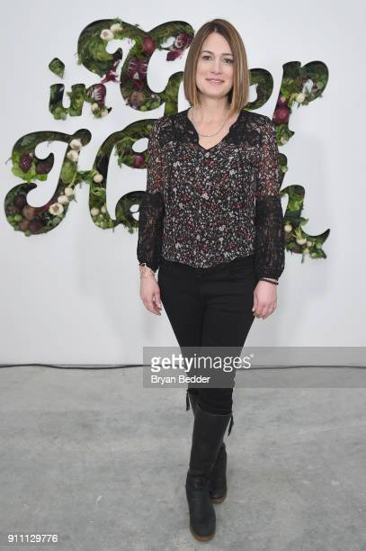 Gillian Flynn attends the in goop Health Summit on January 27 2018 in New York City