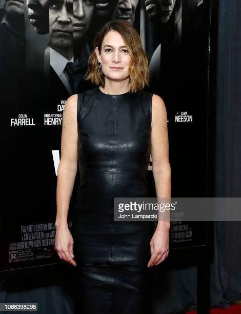 Gillian Flynn attends Widows New York Special Screening at Brooklyn Academy of Music on November 11 2018 in New York City