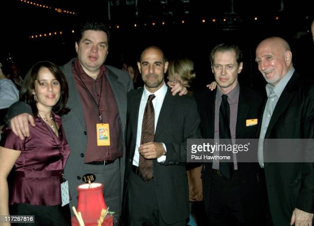 Gillian Grisman Oliver Platt Stanley Tucci Steve Buscemi and Dominic Chianese