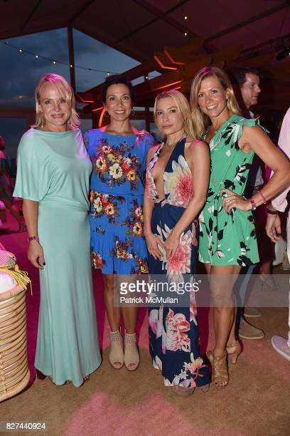 Gillian Hayes Tracey McNeil Tracey Anderson and Allison LeBlanc attend Sixth Annual Hamptons Paddle and Party for Pink Benefitting the Breast Cancer...