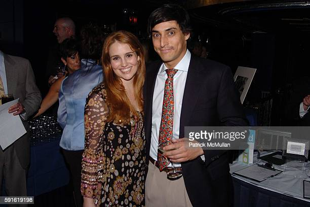 Gillian Hearst and Adam Shugar attend THE RAINFOREST FOUNDATION US Soul Survivor Dinner and Concert at The Supper Club on May 9 2005 in New York City