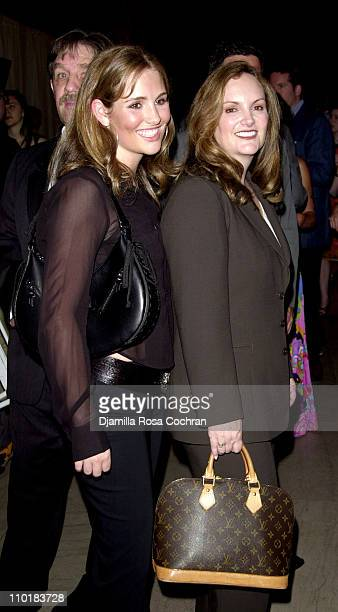 "Gillian Hearst and Patricia Hearst during Friends of the High Line Party to Celebrate ""Designing the High Line"" at Vanderbilt Hall, Grand Central..."
