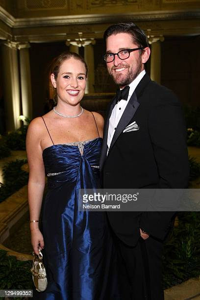 Gillian Hearst Shaw and Christian Simonds attend the 2011 Frick Collection Autumn Dinner Honoring Anne L Poulet at The Frick Collection on October 17...
