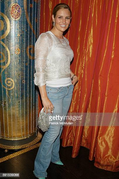 Gillian Hearst Shaw attends Hustle Flow NY screening afterparty at Fizz NYC USA on June 27 2005