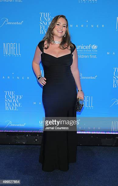 Gillian Hearst Simonds attends the 11th Annual UNICEF Snowflake Ball Honoring Orlando Bloom Mindy Grossman And Edward G Lloyd at Cipriani Wall Street...