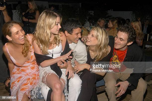 Gillian HearstShaw Amanda Hearst Luigi Tadini Marissa Bregman and Nick Raynes attend Southampton Soiree hosted by Luigi Tadini Amanda Hearst and...