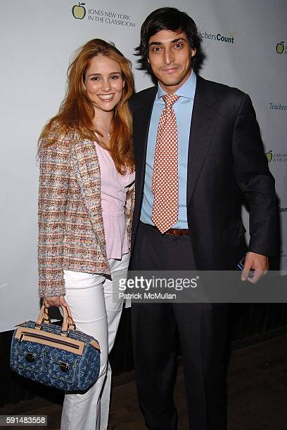 Gillian HearstShaw and Adam Shugar attend SPRING FLING Party hosted by ZAC POSEN ALEXANDRA POSEN to Benefit TeachersCount at Hiro Ballroom on May 17...