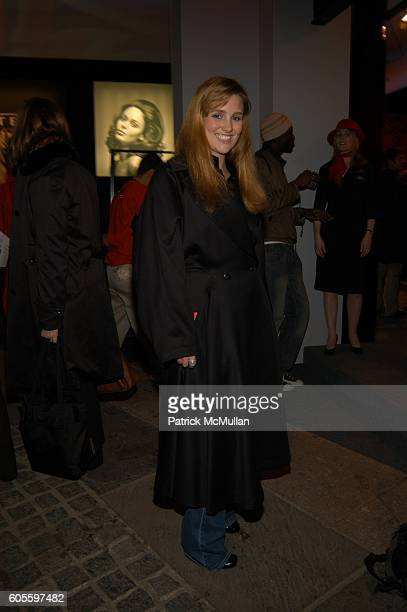 Gillian HearstShaw at the Bryant Park Tents on February 5 2006 in New York City