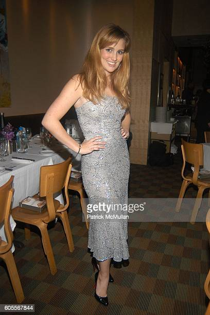 Gillian HearstShaw attends ALVIN VALLEY Fall 2006 Collection After Party at W Hotel on February 6 2006 in New York