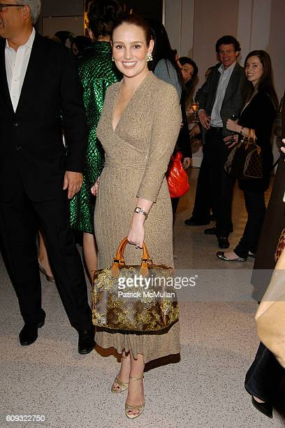 Gillian HearstShaw attends BADGLEY MISCHKA Platinum Sportswear launch party hosted by SAKS FIFTH AVENUE at Saks Fifth Avenue on March 20 2007 in New...