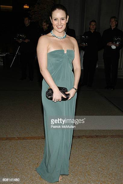 Gillian HearstShaw attends BVLGARI Private Dinner at The Metropolitan Museum of Art on April 18 2007 in New York City