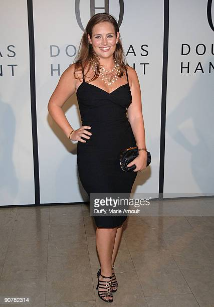 Gillian HearstShaw attends Douglas Hannant Spring 2010 during MercedesBenz Fashion Week at The Plaza Hotel on September 14 2009 in New York City