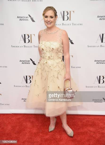 Gillian HearstShaw attends The American Ballet Theatre 2018 Fall Gala at David H Koch Theater Lincoln Center on October 17 2018 in New York City
