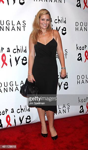 Gillian HearstShaw during Keep A Child Alive Black Ball Kickoff at Cain in New York City New York United States