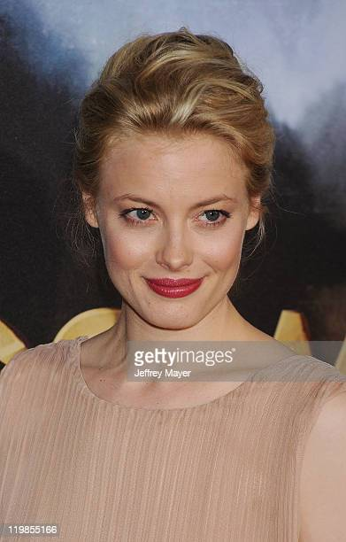 Gillian Jacobs arrives at the Cowboys Aliens World Premiere at the San Diego Civic Theatre on July 23 2011 in San Diego California