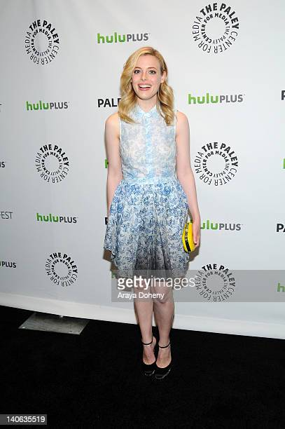 Gillian Jacobs arrives at the PaleyFest 2012 Presents 'Community' at Saban Theatre on March 3 2012 in Beverly Hills California