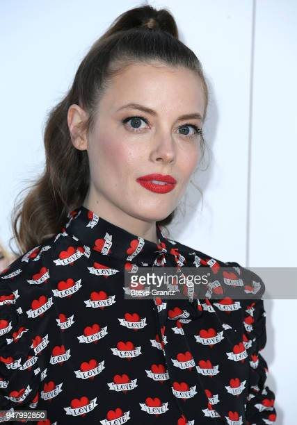 Gillian Jacobs arrives at the Premiere Of STX Films' 'I Feel Pretty' at Westwood Village Theatre on April 17 2018 in Westwood California