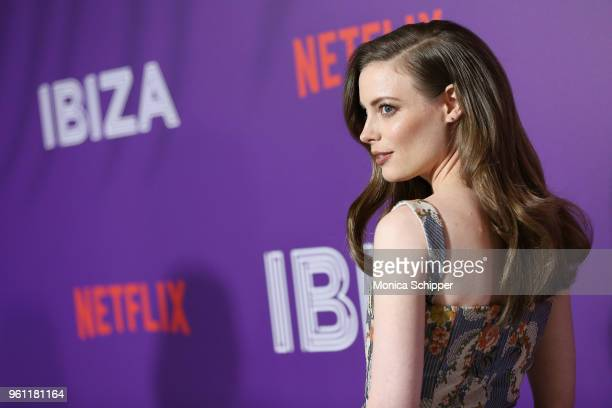 Gillian Jacobs attends Netflix's Ibiza Premiere at AMC Loews Lincoln Square 13 on May 21 2018 in New York City