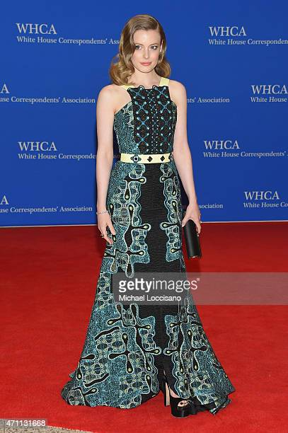 Gillian Jacobs attends the 101st Annual White House Correspondents' Association Dinner at the Washington Hilton on April 25 2015 in Washington DC