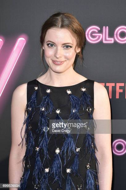 Gillian Jacobs attends the Premiere Of Netflix's 'GLOW' Arrivals at The Cinerama Dome on June 21 2017 in Los Angeles California