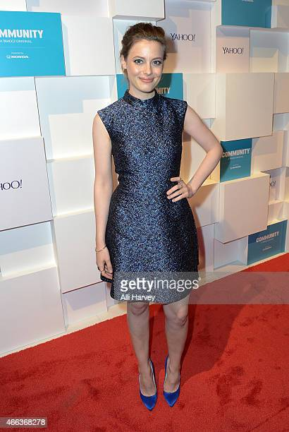 Gillian Jacobs attends Yahoo's Community Greendale School Dance at SXSW 2015 on March 14 2015 in Austin Texas