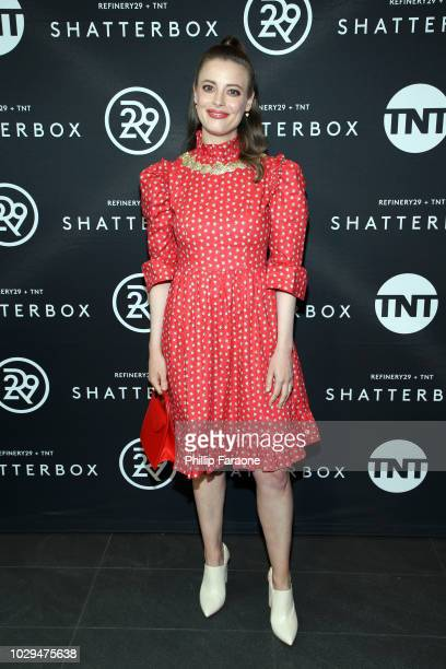 Gillian Jacobs celebrates Shatterbox with Refinery 29 and TNT during 2018 Toronto International Film Festival at TIFF Bell Lightbox on September 8...