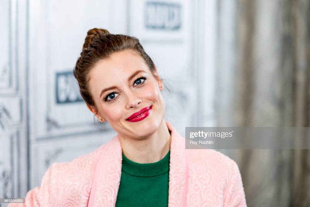 Gillian Jacobs discusses 'Ibiza' with the Build Series at Build Studio on May 22, 2018 in New York City.