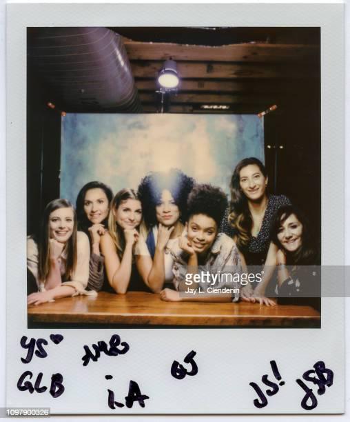 Gillian Jacobs Ivy Agregan AM Lukas Janine Sherman Barrois Yara Shahidi Jessica Sanders and Gillian Barnes from 'Refinery29's Shatterbox Series' are...