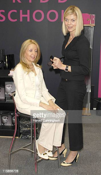 Gillian McKeith and Jemma Kidd during The Vitality Show 2007 at Olympia in London Great Britain