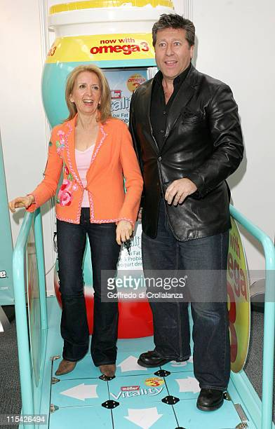 Gillian McKeith and Neil Fox during The Vitality Show 2006 London Press Launch and Photocall in London