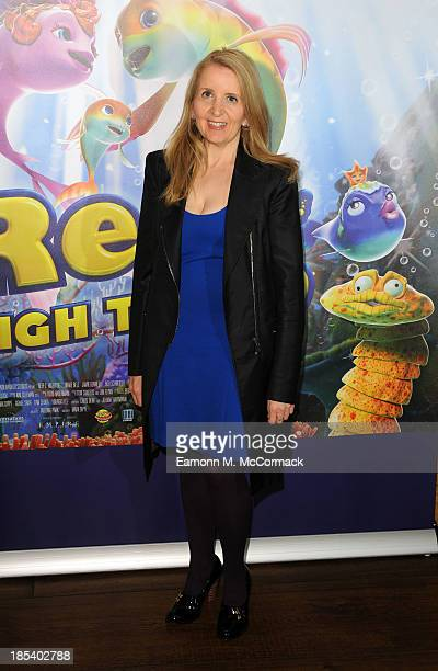 Gillian McKeith attends a celebrity screening of 'The Reef 2 The High Tide' at Soho Hotel on October 20 2013 in London England