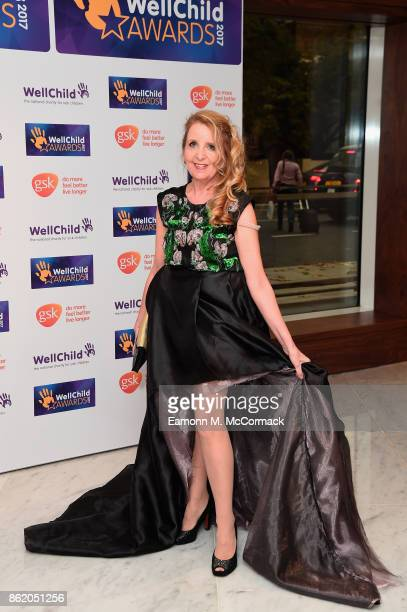 Gillian McKeith attends the annual WellChild awards at Royal Lancaster Hotel on October 16 2017 in London England