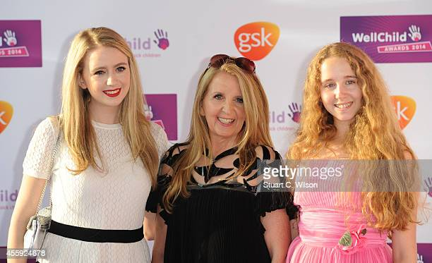 Gillian McKeith attends the WellChild awards at the London Hilton on September 22 2014 in London England