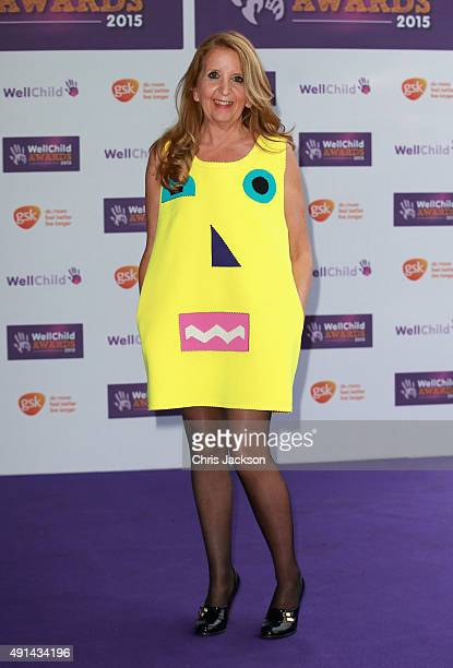 Gillian McKeith attends The WellChild Awards Ceremony at the London Hilton on October 5 2015 in London England