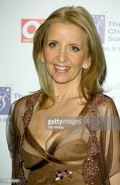Gillian McKeith during 2005 Children's Charities Trust Awards at Grosvenor House Hotel in London Great Britain