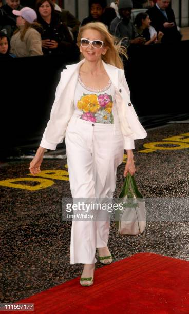 Gillian McKeith during An Audience with 'Coronation Street' April 9 2006 at ITV Studios in London Great Britain