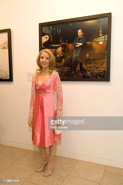 Gillian McKeith during The Children's Society Exhibition 'When I Grow Up' Private View at The Hospital in London Great Britain