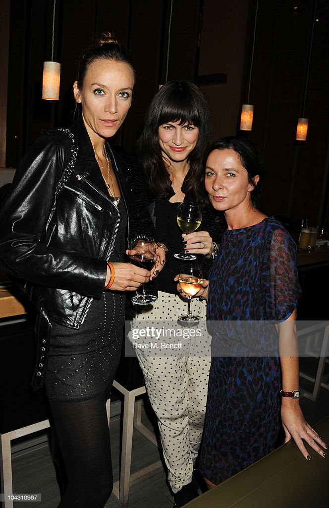 Gillian McVey attends private dinner hosted by AnOther Magazine to celebrate the latest cover star Bjork at Sake No Hana on September 20, 2010 in London, England.