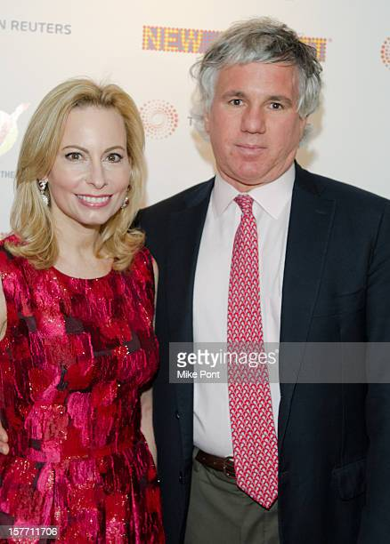 Gillian Miniter and Sylvester Miniter attend the 2012 New 42nd Street gala at The New Victory Theater on December 5 2012 in New York City