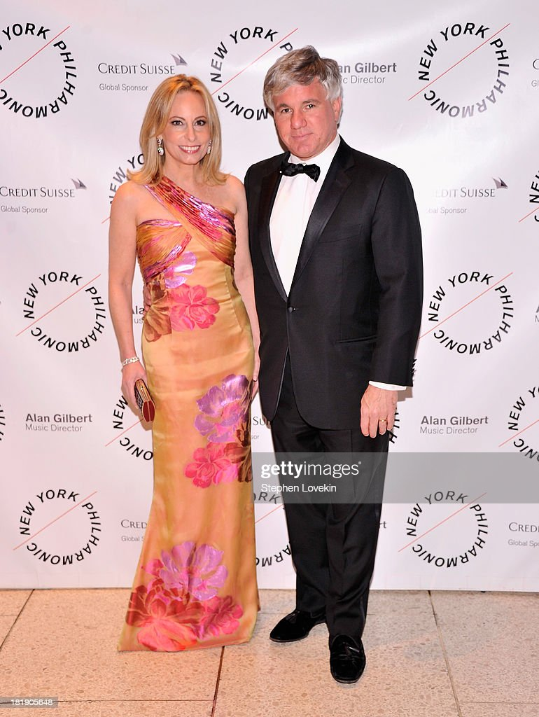 Gillian Miniter and Sylvester Miniter attend The New York Philharmonic 172nd Season Opening Night Gala at Avery Fisher Hall, Lincoln Center on September 25, 2013 in New York City.