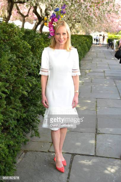 Gillian Miniter attends 36th Annual Frederick Law Olmsted Awards Luncheon Central Park Conservancy at The Conservatory Garden in Central Park on May...
