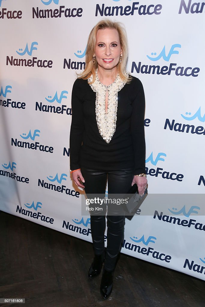 Gillian Miniter attends the launch party for NameFace.com at No. 8 on January 27, 2016 in New York City.