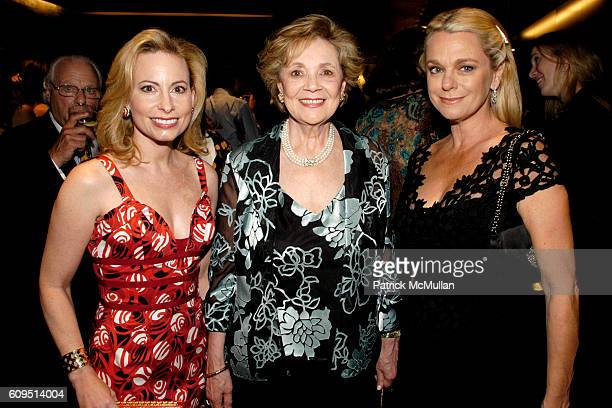 Gillian Miniter Matilda Cuomo and Debbie Bancroft attend MANFREDI JEWELERS Park Avenue Boutique Opening at Manfredi Jewelers on September 20 2007 in...